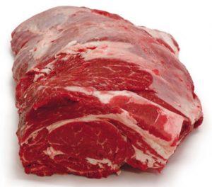 reale taglio di carne bovina