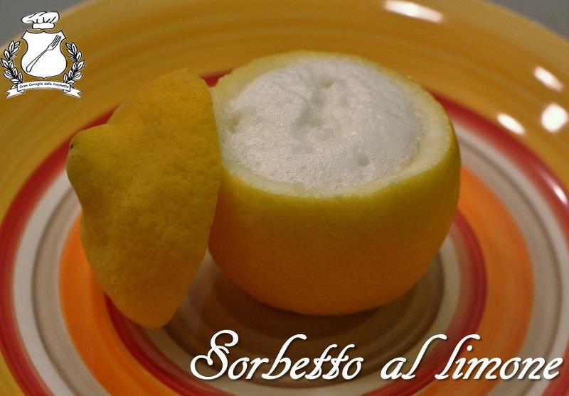 sorbetto al limone