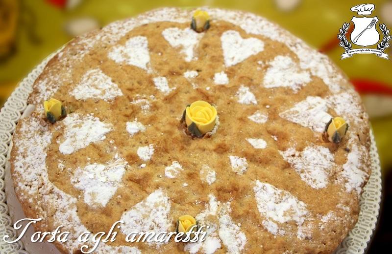 torta agli amaretti by angarano angela maria