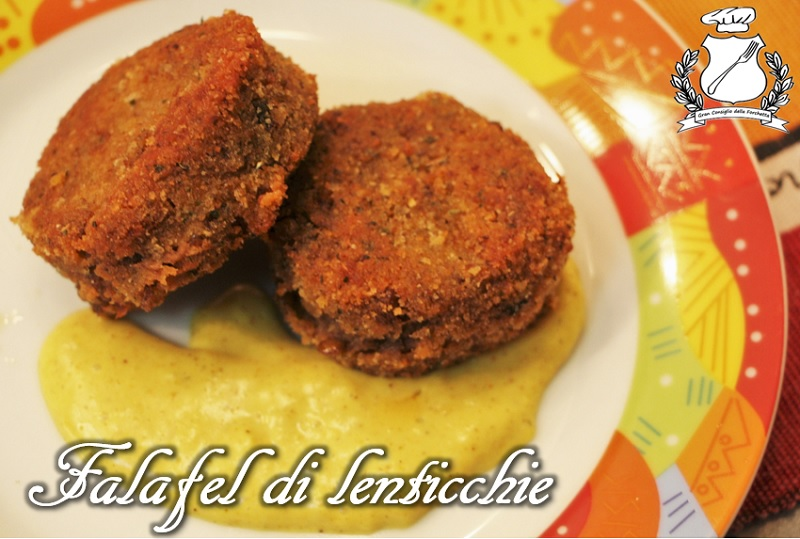Falafel di lenticchie