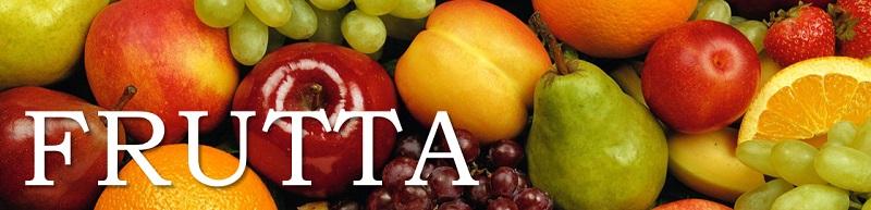 Frutta - materie prime per le ricette