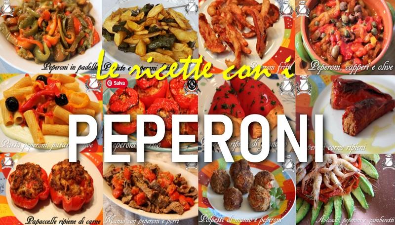 Le ricette con i peperoni