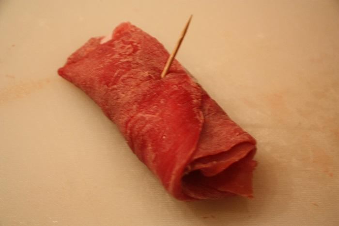 involtini di carne al sugo alla romana