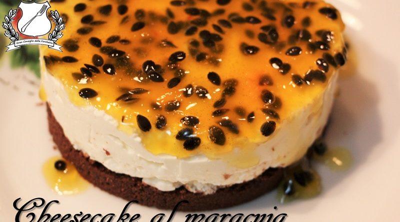 cheesecake al maracuja