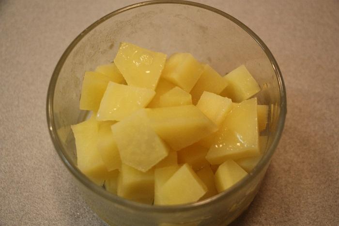patate e zucca in padella