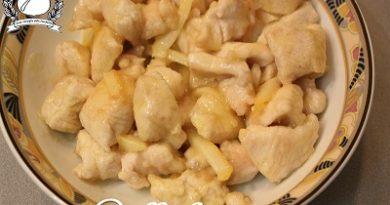 pollo limone e zenzero
