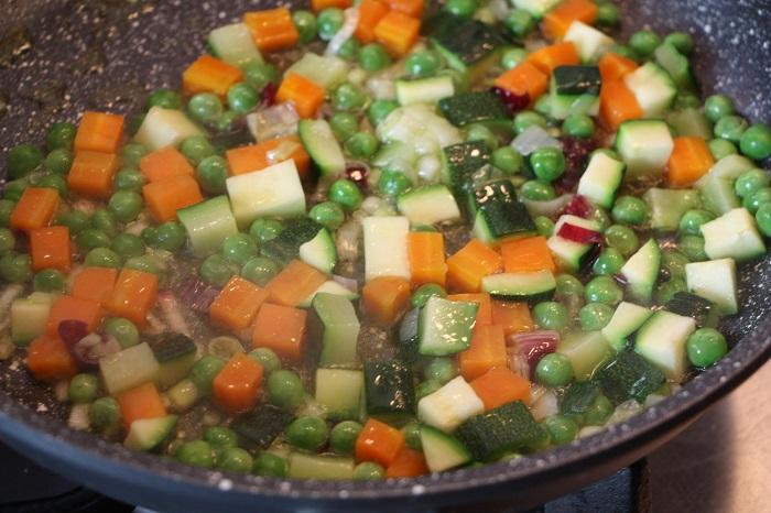 Passatelli con verdure e pinoli 03