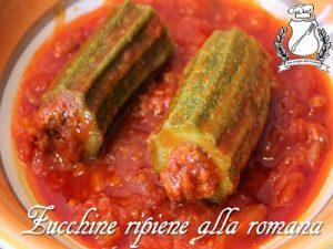 zucchine ripiene alla romana