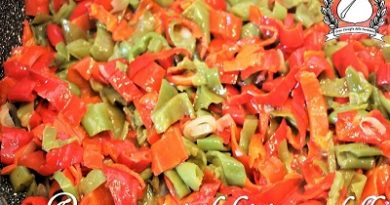 peperoncini dolci in padella