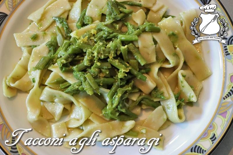 tacconi agli asparagi