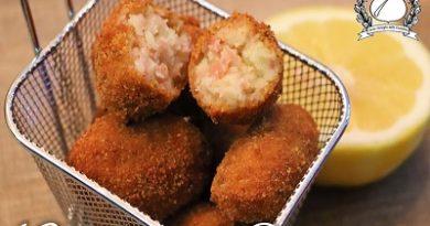 Crocchette di Prosciutto - croquetas de jamon m
