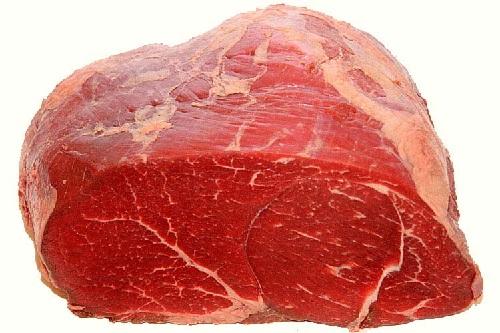 Noce - I tagli di carne bovina