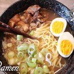Ramen giapponese