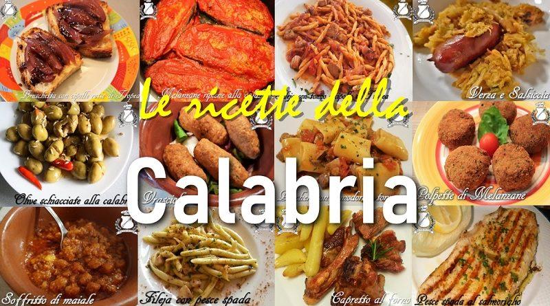 Le ricette della Calabria