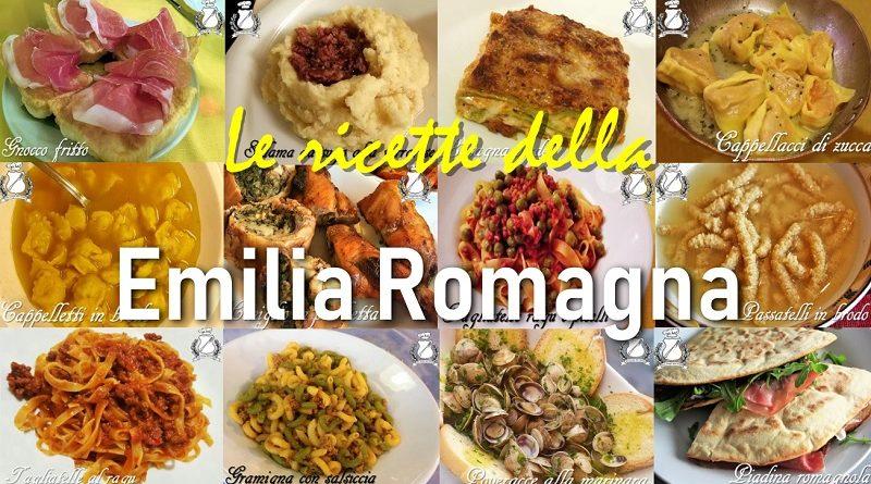 Le ricette della Emilia Romagna
