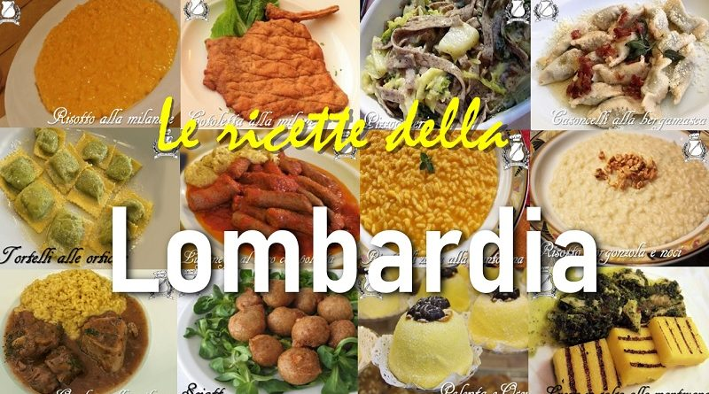 Le ricette milanesi e della Lombardia