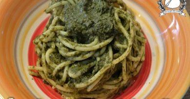 spaghetti con crema di friarielli