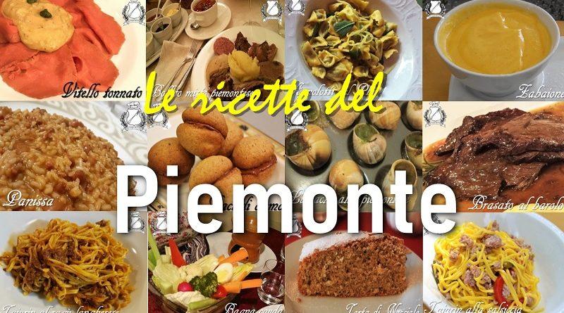 Le ricette tradizionali del Piemonte