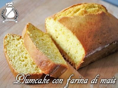 plumcake con farina di mais m