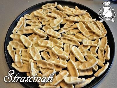 Strascinati formati di pasta fresca tipica lucana