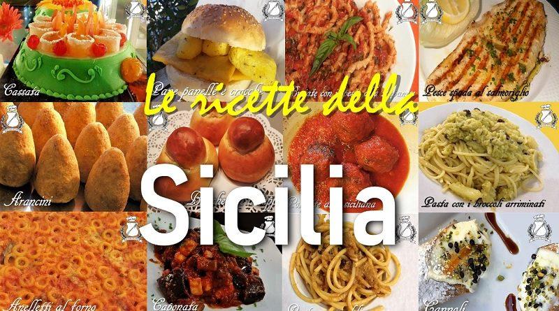 Le ricette tipiche della Sicilia