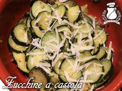 Zucchine a cassola m