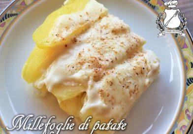 Millefoglie di patate ai 4 formaggi m