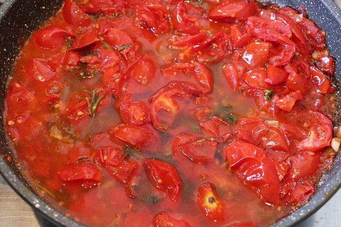 Orecchiette al finocchietto e pomodorini 03