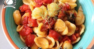 Orecchiette al finocchietto e pomodorini m