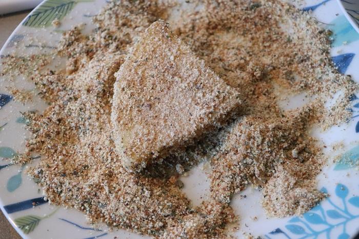 Caciocavallo impanato e fritto 03