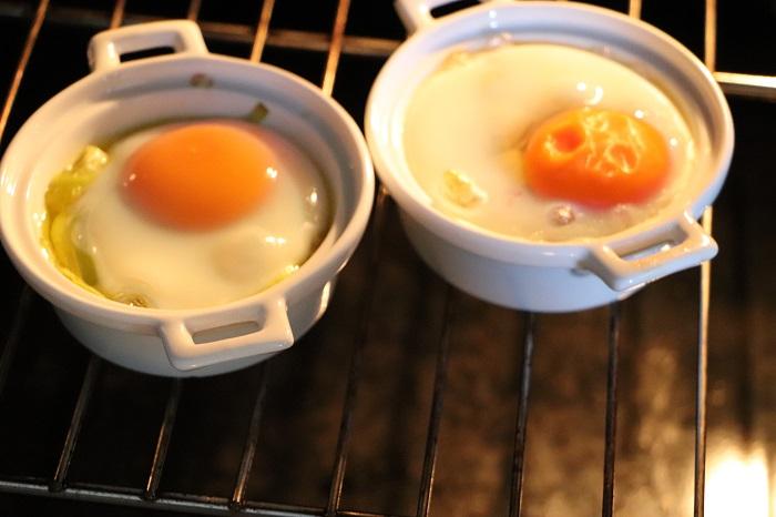 uova in cocotte ai porri