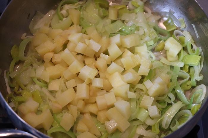 Cruset con porri e patate 04