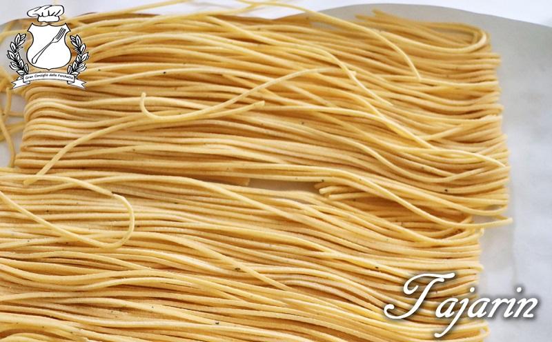 Tajarin - formato di pasta