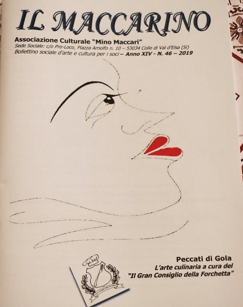 Le ricette toscane sulla rivista Il Maccarino di Colle Val d'Elsa