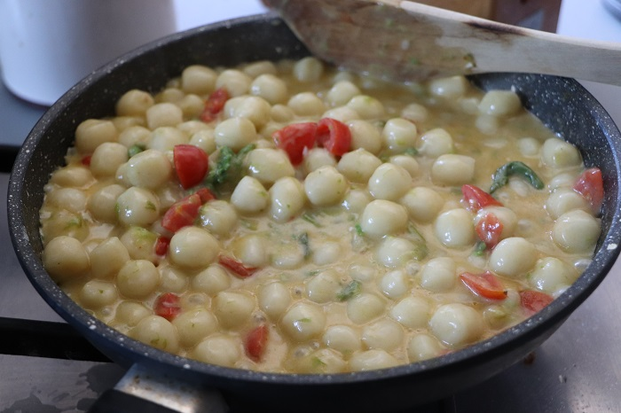 Gnocchetti asparagi e gorgonzola 08