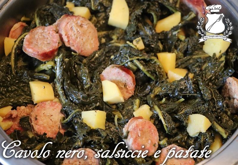 Cavolo nero, salsicce e patate