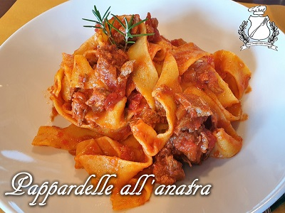 Pappardelle all'anatra m