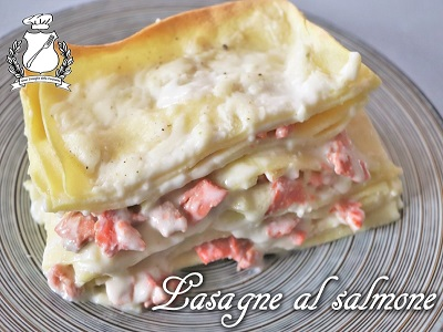 Lasagne al salmone m