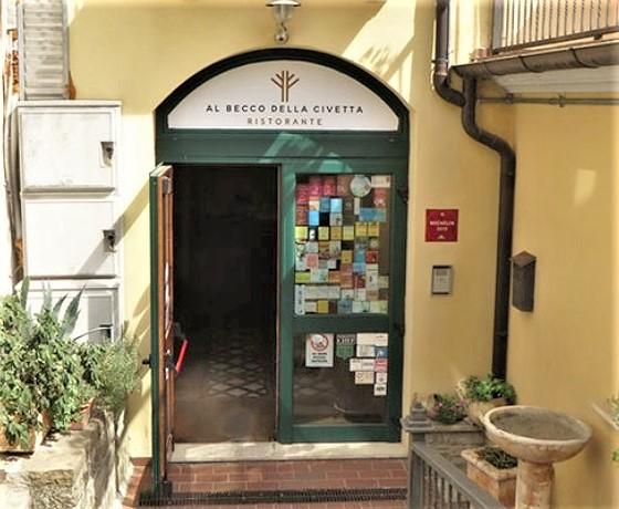 Ristorante Al becco della Civetta - Castelmezzano (Potenza) m