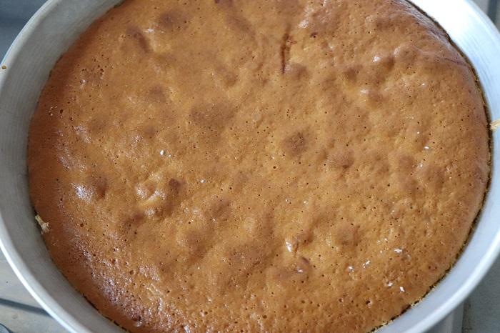 Torta di mele caramellata 09
