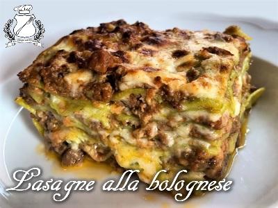 Lasagne alla bolognese m Osteria bottega bologna