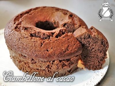ciambellone al cacao m