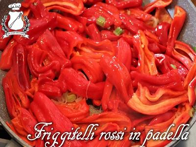 Friggitelli rossi in padella m