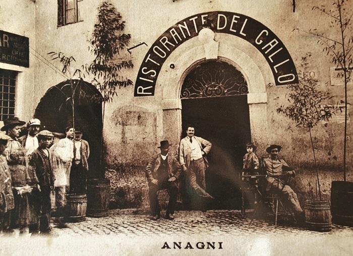 Ristorante del Gallo - Anagni (Frosinone) foto storica
