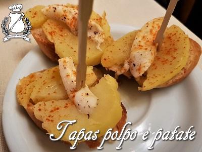 tapas polpo e patate