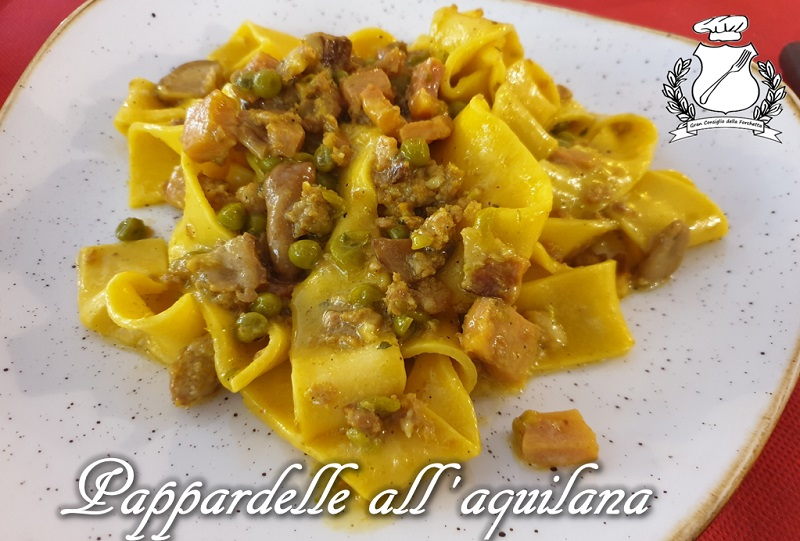 Pappardelle all'aquilana