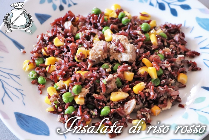 Insalata di riso rosso