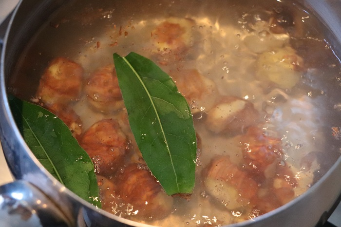 Risotto con porcini e castagne