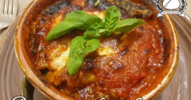 Parmigiana di zucchine alla salernitana