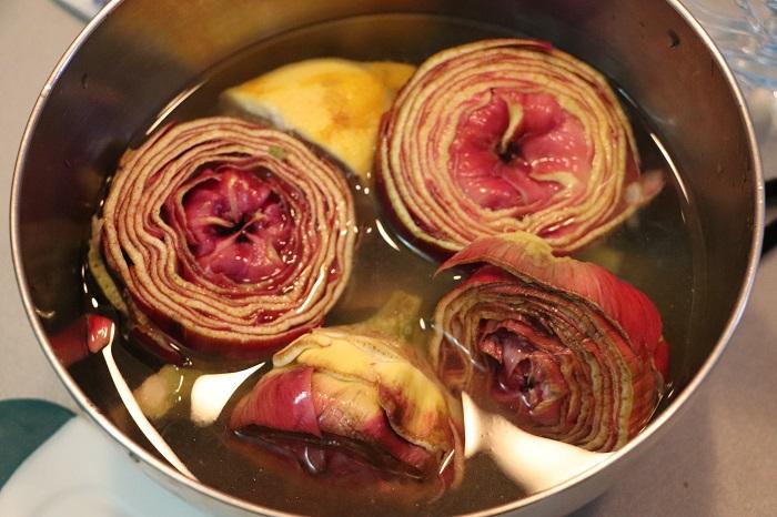 Patate e carciofi arrosto 01